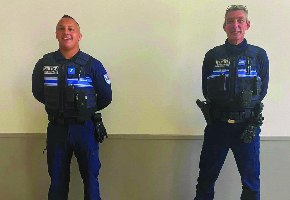 UN NOUVEL AGENT DE POLICE MUNICIPALE AU SEIN DU SERVICE
